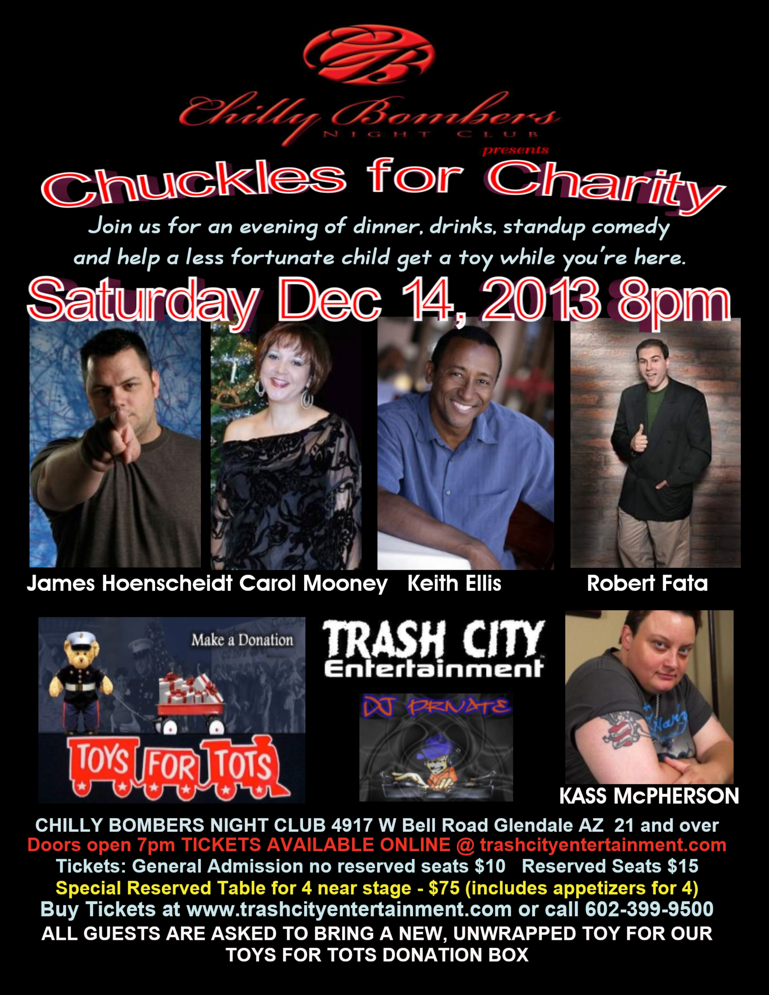 Chuckles for Charity